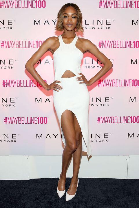Human, Skin, Shoulder, Joint, Dress, Style, Pink, Waist, One-piece garment, Fashion,