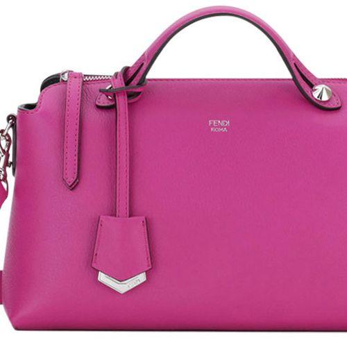 """<p><em>Fendi bag, $1,700, </em><a href=""""https://shop.harpersbazaar.com/designers/fendi/small-boston-bag-1/"""" target=""""_blank""""><em>shopBAZAAR.com</em></a></p>"""