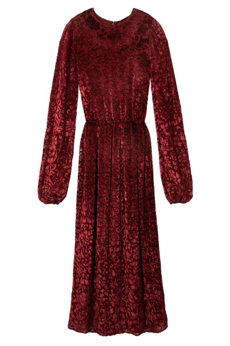 """<p><strong>Michael Kors</strong> dress, $2,795, <strong><a href=""""https://shop.harpersbazaar.com/designers/m/michael-kors/long-sleeve-midi-dress-4591.html"""" target=""""_blank"""">shopBAZAAR.com</a>.</strong></p>"""