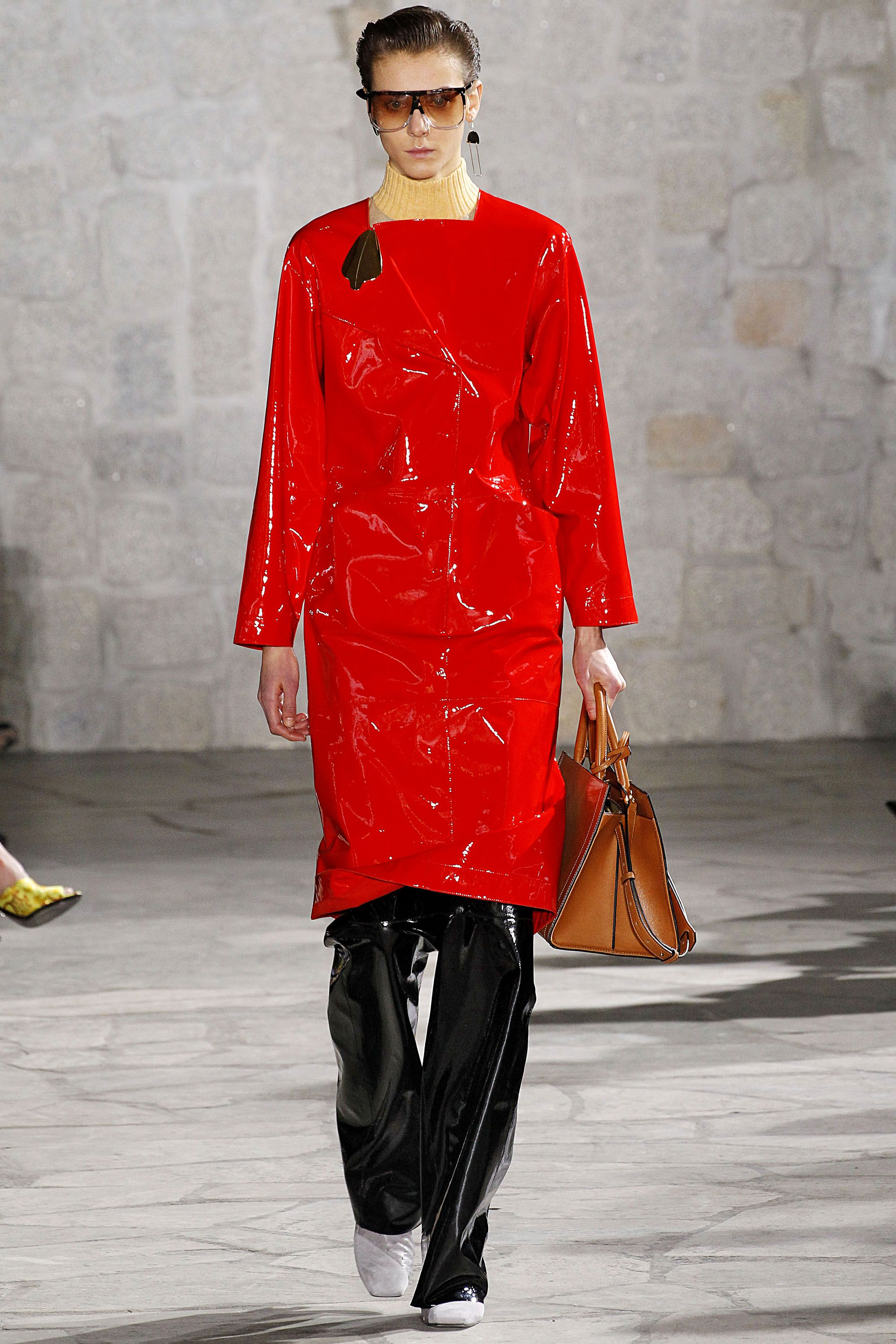 <p>After so much time celebrating the '70s, is the Reagan-era—with its bold colors and geometric shapes—ready for its time in the street style round-ups. J.W. Anderson, for one, would be pleased. </p>