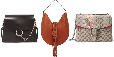 <p>Will it be Chloe's Faye, a blogger favorite, one of Altuzarra's editor-celebrated bags from his first collection, or Gucci's highly favored Dionysus on well-styled arms this season?</p>