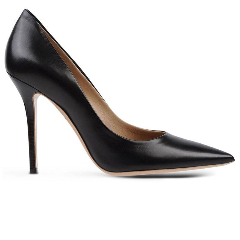 "<p><strong>Salvatore Ferragamo</strong> pumps, $570, <a href=""https://shop.harpersbazaar.com/designers/s/salvatore-ferragamo/black-pointed-leather-pump-5606.html"" target=""_blank""><strong>shopBAZAAR.com</strong></a>. </p>"