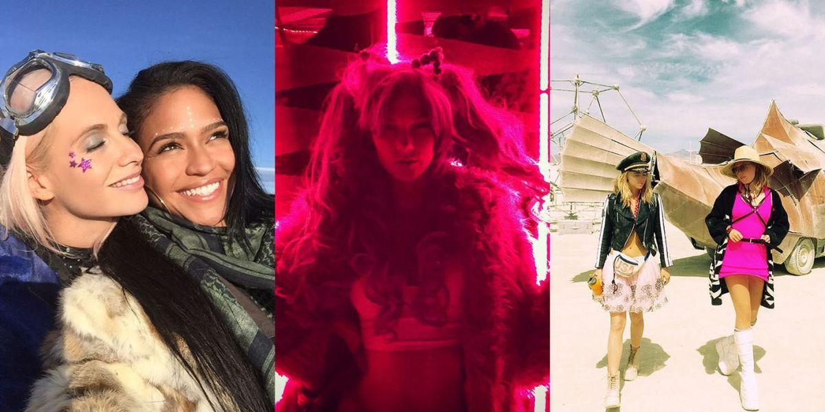 Celebrities At Burning Man Celebrity Photos Burning Man 2015