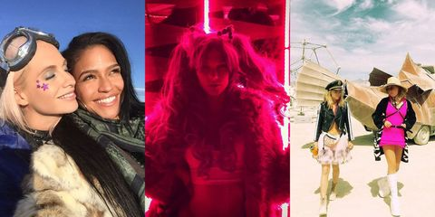 See All the Celebrities at Burning Man This Year