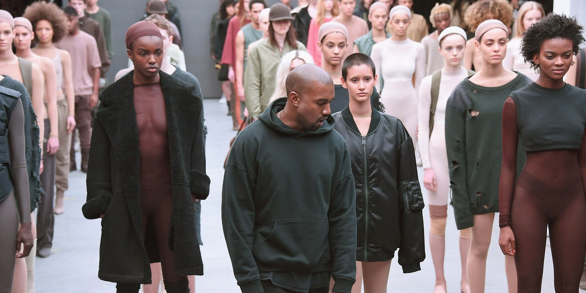 Kanye West Yeezy Season 2 Fashion Show