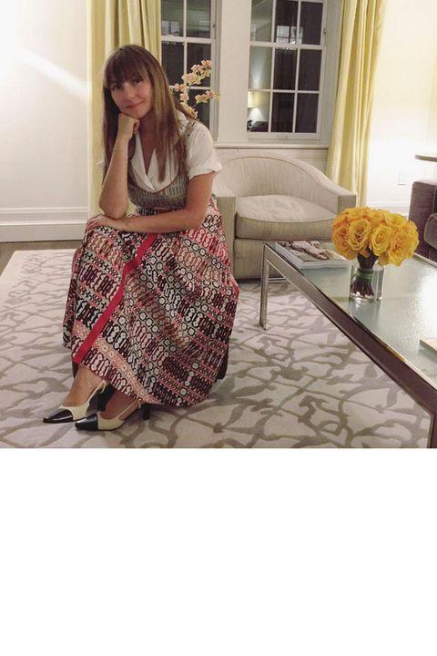 Clothing, Brown, Floor, Flooring, Room, Interior design, Couch, Table, Living room, Interior design,