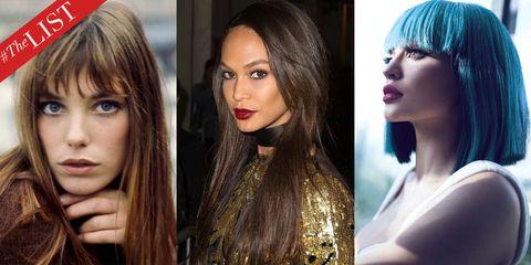 Face, Nose, Mouth, Lip, Eye, Hairstyle, Eyelash, Eyebrow, Beauty, Style,