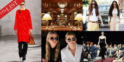 #TheLIST: Fashion Week Hot List