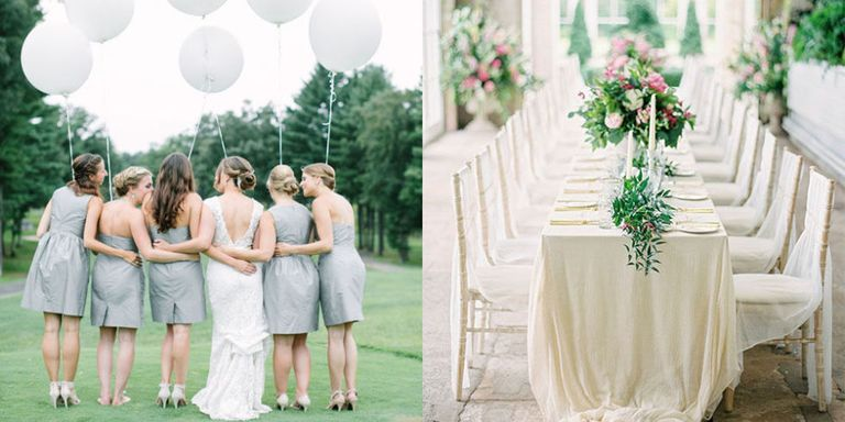 All white wedding inspiration white wedding decor ideas our wedding experts at style me pretty show us how to do an all white wedding all year round junglespirit Image collections