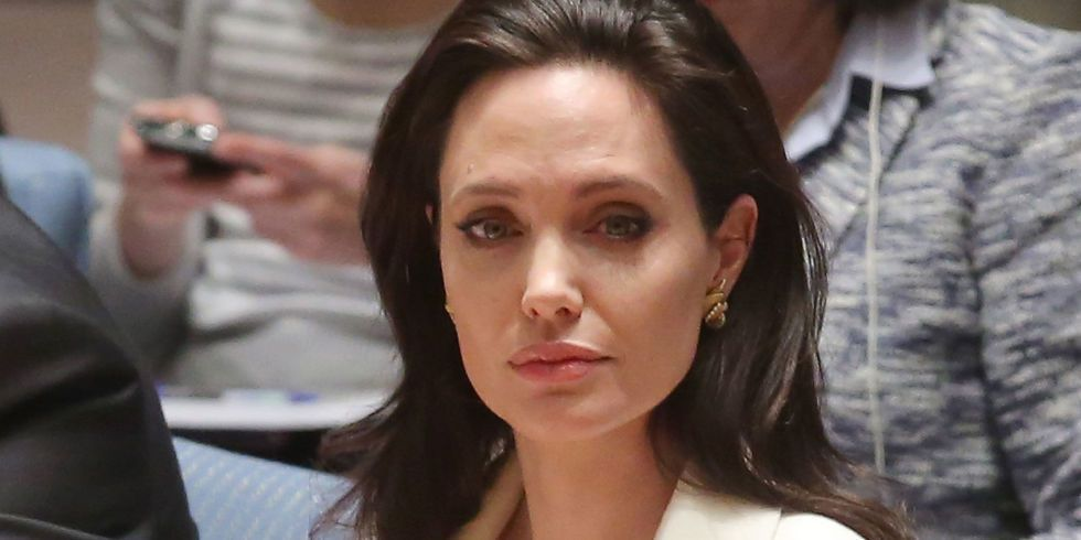 Angelina Jolie Speaks Out About the Shocking Extent of Sexual War Crimes