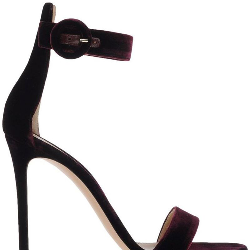 """<p>This is the perfect simple heel that every woman should own!</p><p><strong>Gianvito Rossi</strong> sandal, $790, <a href=""""https://shop.harpersbazaar.com/designers/gianvito-rossi/portofino-velvet-sandal/"""" target=""""_blank"""">shopBAZAAR.com<img src=""""http://assets.hdmtools.com/images/HBZ/Shop.svg"""" class=""""icon shop""""></a>.</p>"""