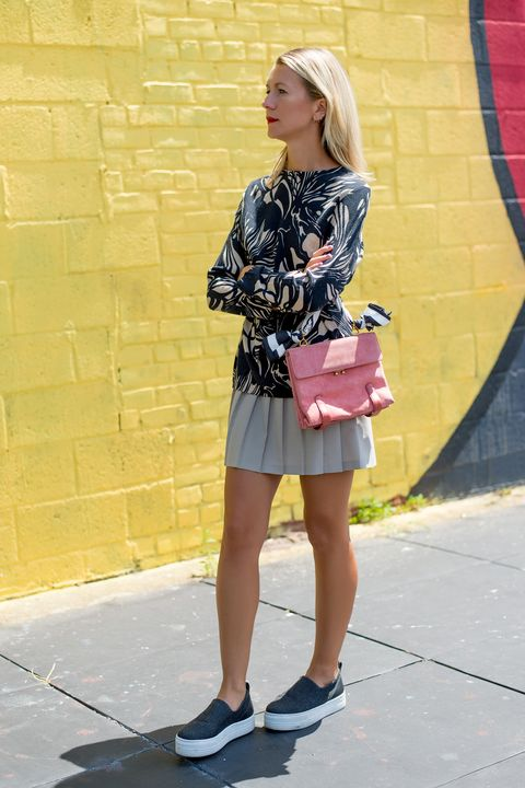 """<p class=""""MsoNormal"""" style=""""margin-bottom:10.0pt""""><strong>Harper's BAZAAR: When did you first fall in love with vintage clothing?</strong><o:p></o:p></p><p class=""""MsoNormal"""" style=""""margin-bottom:10.0pt""""><strong>Natalie Joos:</strong> I remember my first pair of vintage shoes, I think that was the first time. They were 1960's platforms and they were dead stock.  I pretty much wore them every day. And I was 16. <o:p></o:p></p><p><em>Vintage <a href=""""http://shop.talesofendearment.com/collections/frontpage/products/60s-tunic"""" target=""""_blank"""">Tunic</a></em><em>, $160 </em><br></p>"""