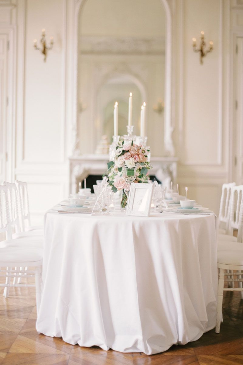 All White Wedding Inspiration- White Wedding Decor Ideas