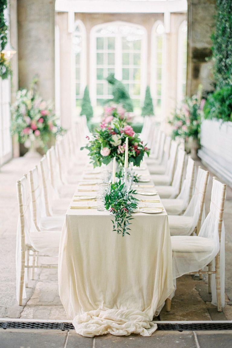 All White Wedding Inspiration- White Wedding Decor Ideas