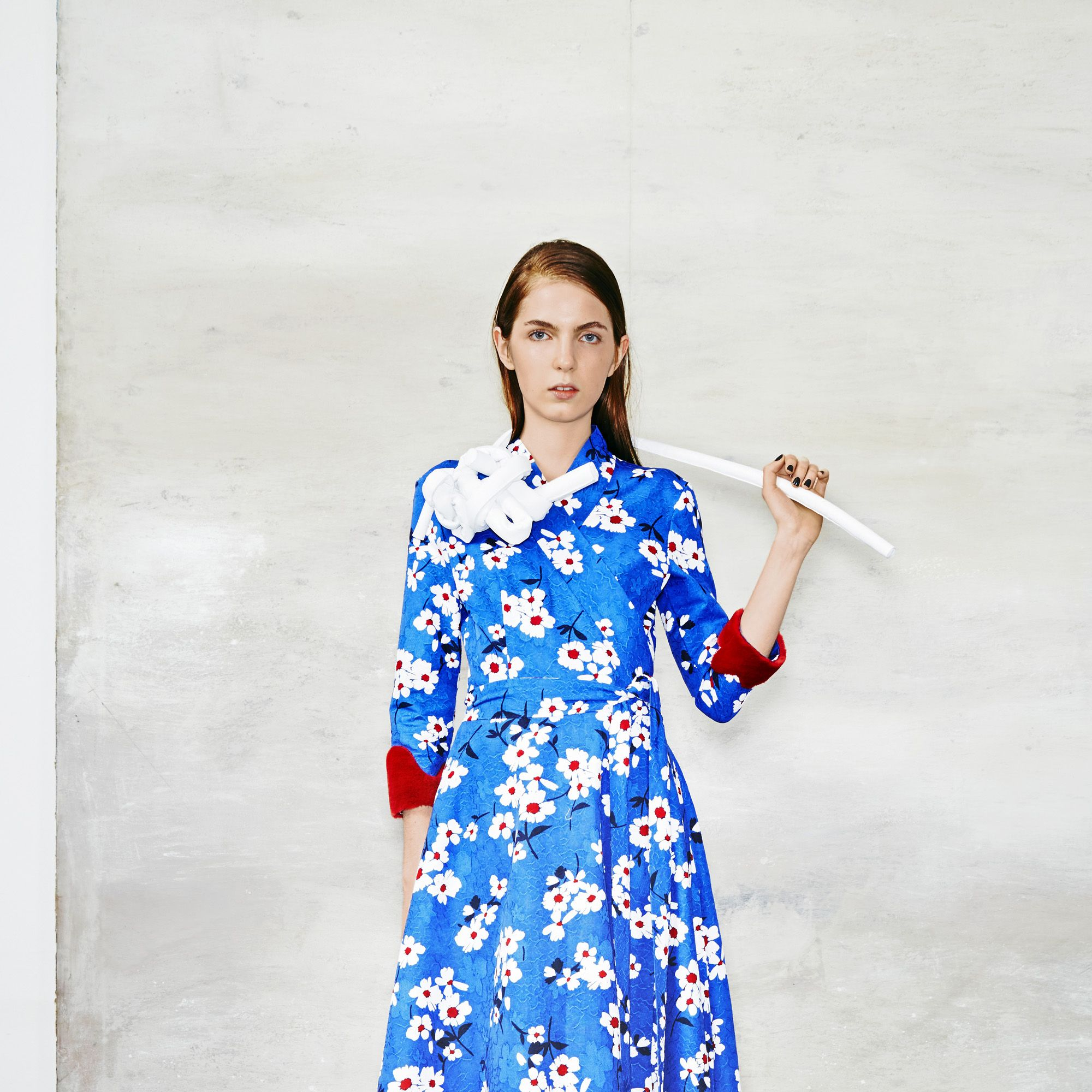 <p>Inspired by historical figures like Amelia Earhart and fictional ones like Miss Saigon, Porkar's fall collection incorporates bold patterns, rich colors, and unconventional tailoring. </p>