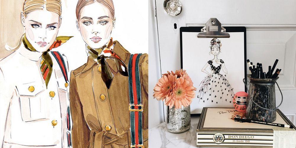 11 Best Fashion Illustrators Fashion Illustrators To Follow On Instagram