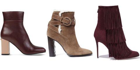"<p><em>Marni boots, $920, <a href=""https://shop.harpersbazaar.com/designers/m/marni/leather-ankle-boot-5322.html"" target=""_blank"">shopBAZAAR.com</a>&#x3B; Burberry boots, $995, <a href=""https://shop.harpersbazaar.com/Designers/B/Burberry-London/Shearling-Boot-5740.html"" target=""_blank"">shopBAZAAR.com</a>&#x3B; </em><em>Paul Andrew boots, $1,195, </em><a href=""https://shop.harpersbazaar.com/designers/paul-andrew/bordeaux-fringe-boot-12/"" target=""_blank""><em>shopBAZAAR.com</em></a></p>"