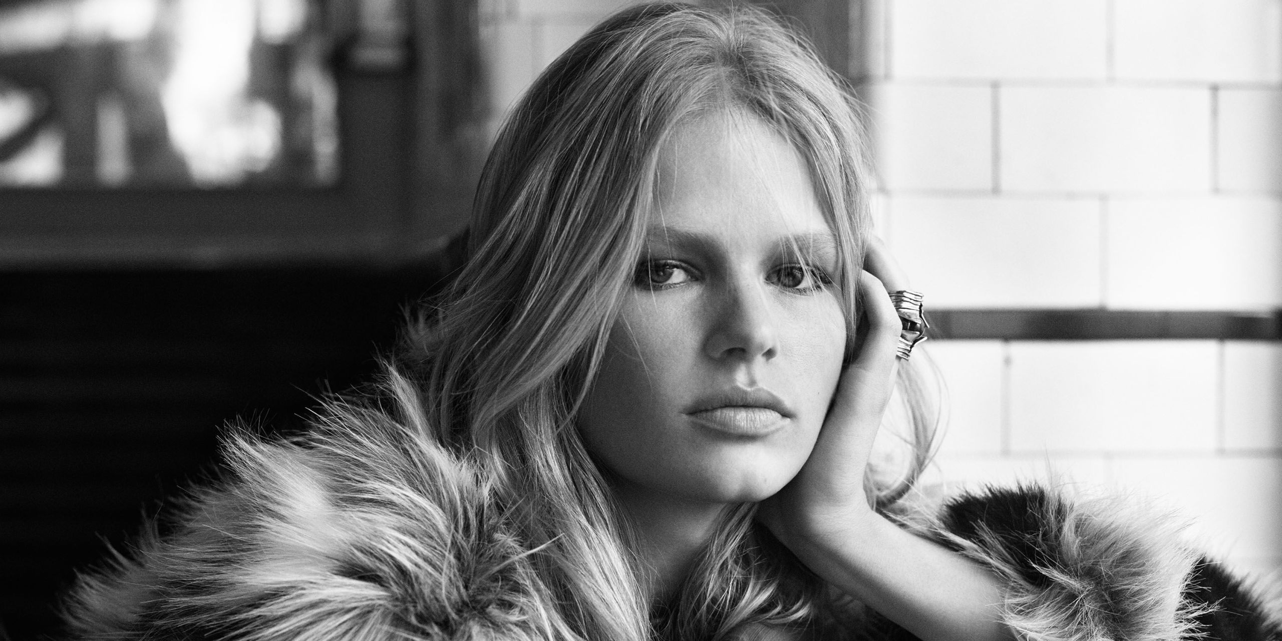 Exclusive: Anna Ewers is the Face of H&M's Fall in Love Campaign