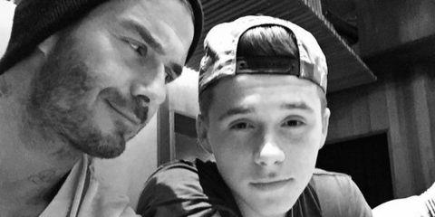 David Beckham Reveals Who Really Controls Brooklyn's Instagram