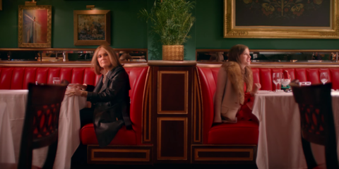 Gloria Steinem Encourages Women to Dine Alone in New Kate Spade Campaign
