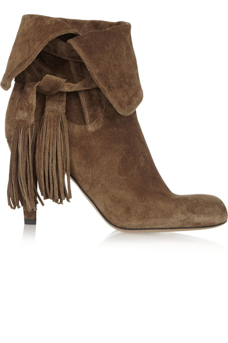 Fringe Boots and Booties for Fall - 20 Best Fringe Boots - BAZAAR