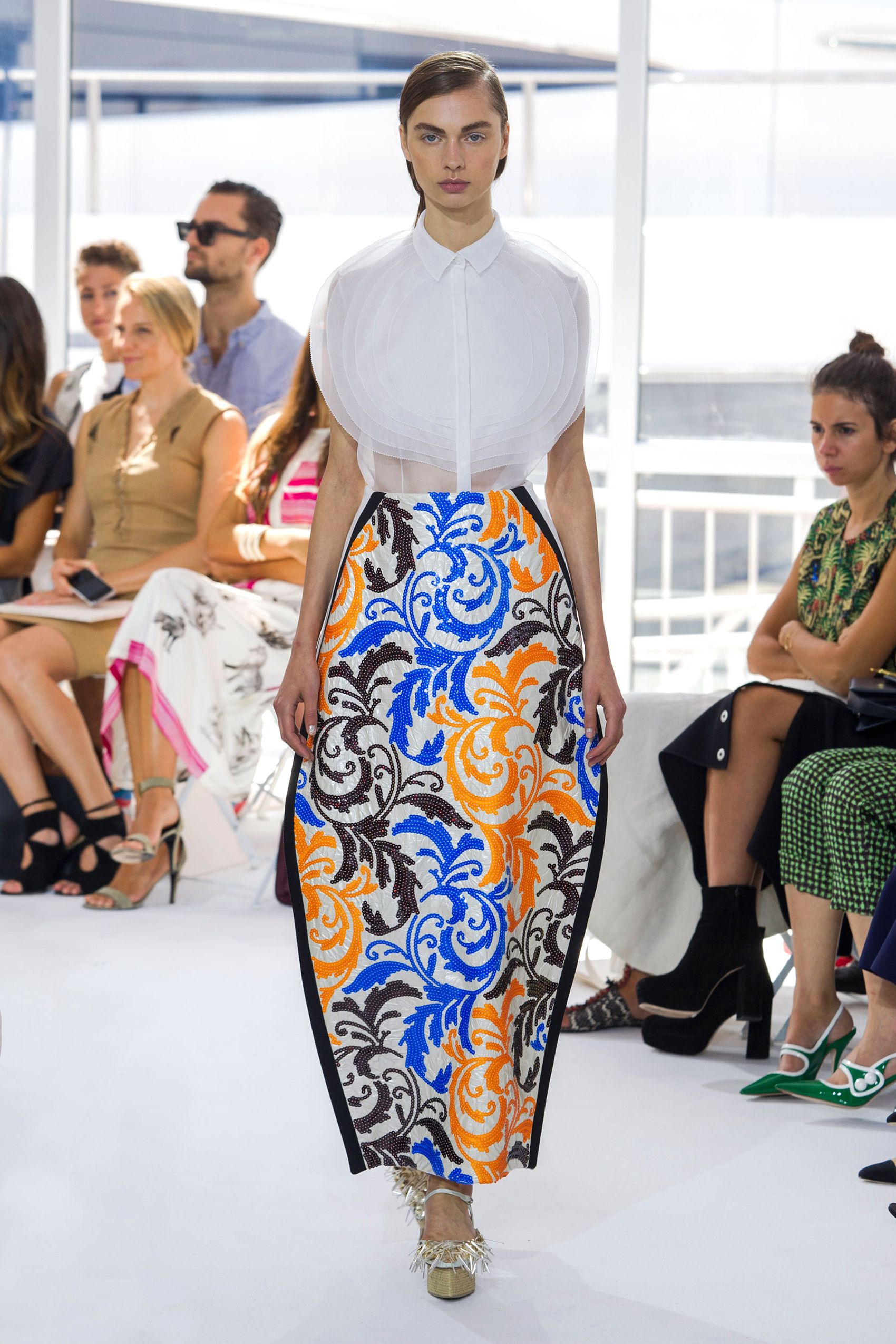 New York Fashion Week Spring 2016 Best New York Spring 2016 Runway Fashion