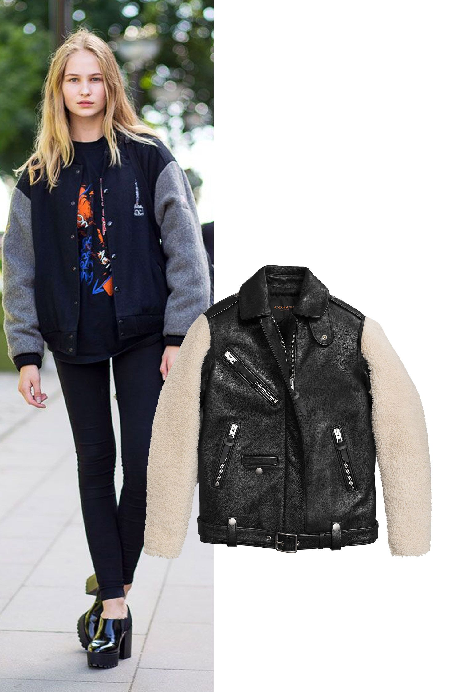 "<p><em>Sheepskin Sleeve Jacket, $1,795, <a href=""http://www.coach.com/coach-designer-winter-jackets-sheepskin-sleeve-jacket/86209.html?cid=D_B_HBZ_9563"" target=""_blank"">coach.com</a>.</em></p>"