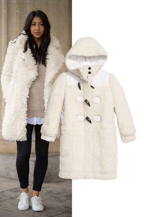 "<p><em>Rip and Repair Duffle Coat, $1,495, <a href=""http://www.coach.com/coach-designer-jackets-rip-and-repair-duffle-coat/86175.html?dwvar_color=WHT&cid=D_B_HBZ_9561"" target=""_blank"">coach.com</a>.</em></p>"