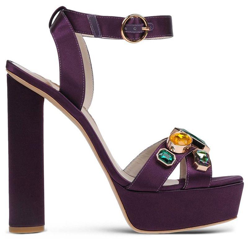 """<p><strong>Sophia Webster</strong> sandals, $628, <strong><a href=""""https://shop.harpersbazaar.com/designers/s/sophia-webster/amanda-embellished-satin-sandal-5667.ht"""" target=""""_blank"""">shopBAZAAR.com</a></strong>. </p>"""