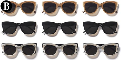 Eyewear, Glasses, Vision care, Product, Sunglasses, Brown, Personal protective equipment, Photograph, Goggles, White,