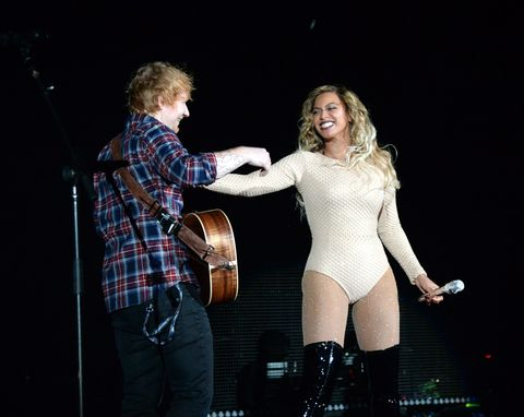 Beyonce and Ed Sheeran Turned 'Drunk in Love' Into a Beautiful Duet Last Night