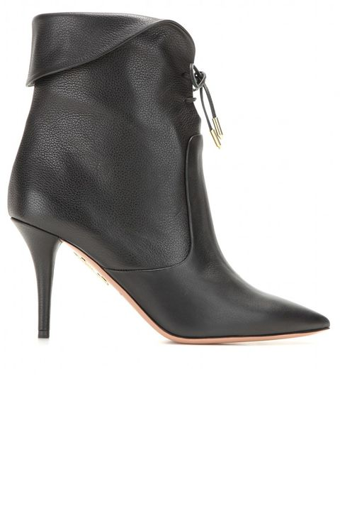 "<p><strong>Aquazarra </strong>boot, $887, <a href=""http://www.mytheresa.com/en-us/tribeca-leather-ankle-boots.html"" target=""_blank"">mytheresa.com</a>.</p>"
