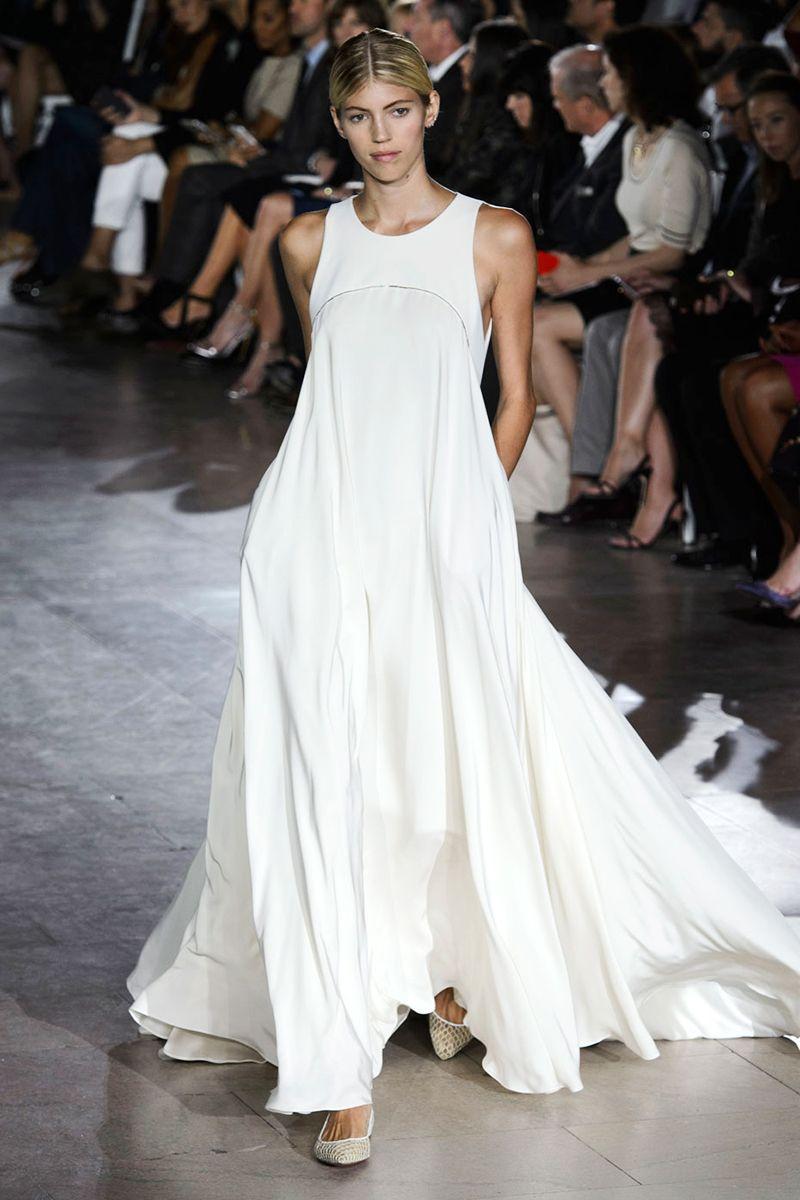 best bridal spring runway zac posen wedding dresses