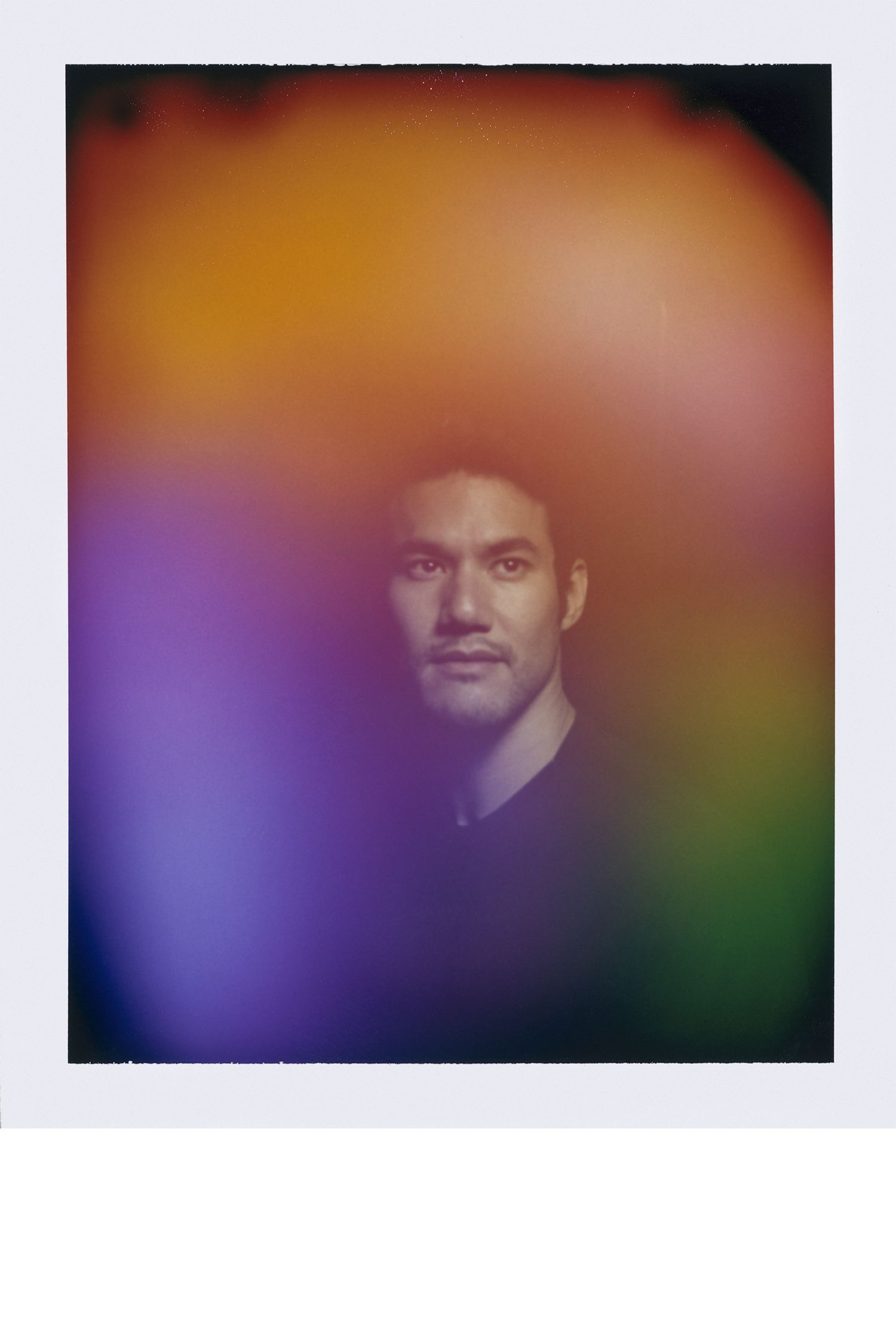 """<p><em><strong></strong></em><em><strong>""""I love how nuanced it is. It looks like a watercolor.""""</strong></em></p><p>Joseph has a ton of yellow in his aura, which shows that he's very optimistic. It's also the color of whimsicality and ease. People with yellow in their consciousness are fun to be around because they provide an atmosphere for people to be themselves. Joseph has a good amount of tan too, which is all about wanting a sense of security and dependability, and orange, which shows a willingness to take risks. And then there's this patch of green, which is very common for people who live in New York City. It shows tenacity and drive, which you need in a place like this, where you either sink or swim. The really interesting thing is the juxtaposition of blue and green. Blue, on the left side, is very sensitive and loyal and emotional, whereas green is more logical. So it looks like Joseph may have some struggle there, because logic doesn't always follow emotion, and vice versa. Also, this mix of red and purple is a pattern that I like to call 'the creative hustler'—purple is all about vision, and red is all about action. And for a designer, that's a great thing to have in your aura.<em><strong><br></strong></em></p>"""