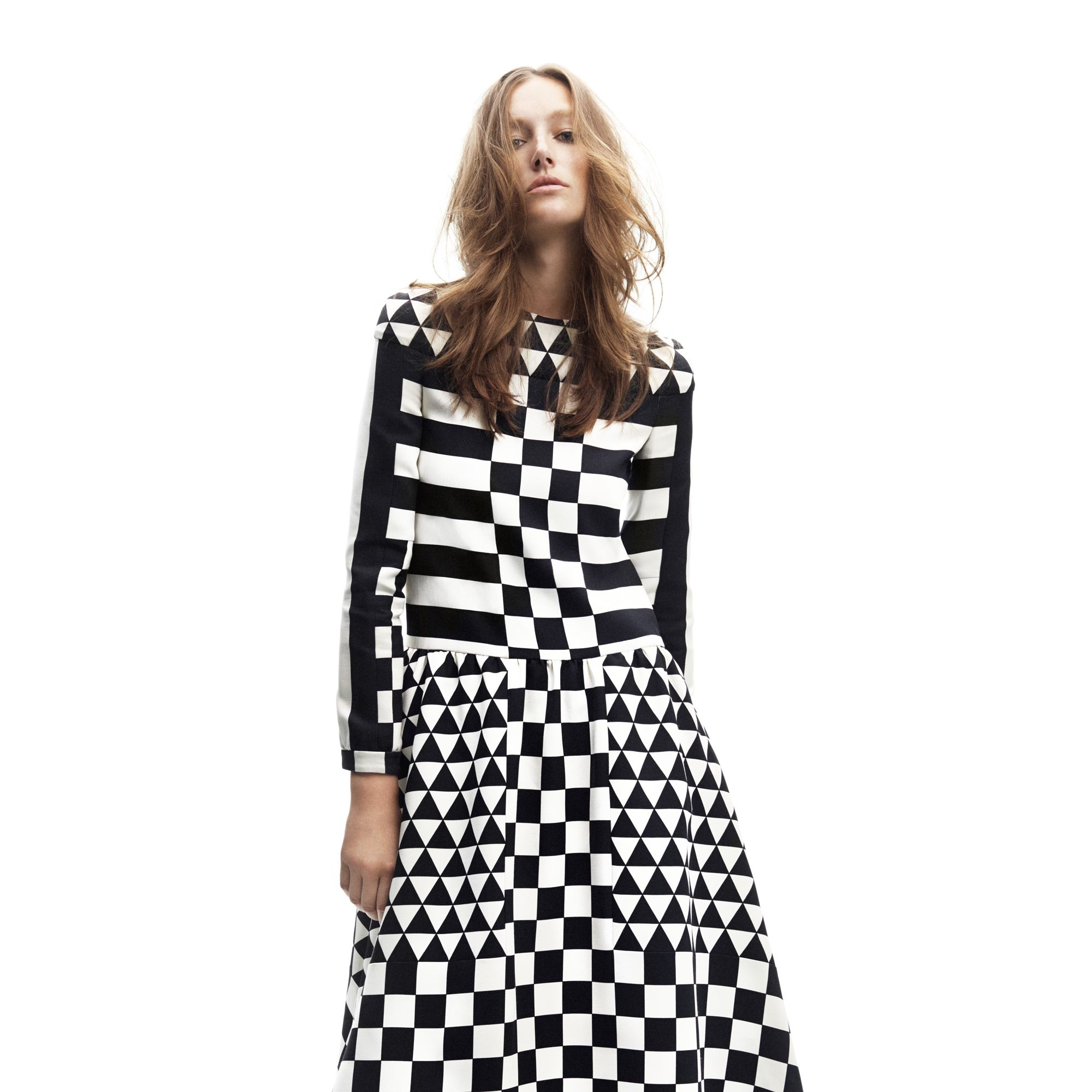<p><strong>Valentino</strong> dress, $5,290, 212-355-5811&#x3B; <strong>Marc Jacobs</strong> boots, $1,150, 212-343-1490.</p>