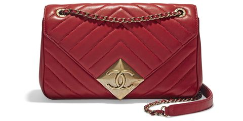 "<p><strong>Chanel</strong> bag, $3,800, <span class=""redactor-invisible-space"">Chanel 800-550-0005</span>.</p>"