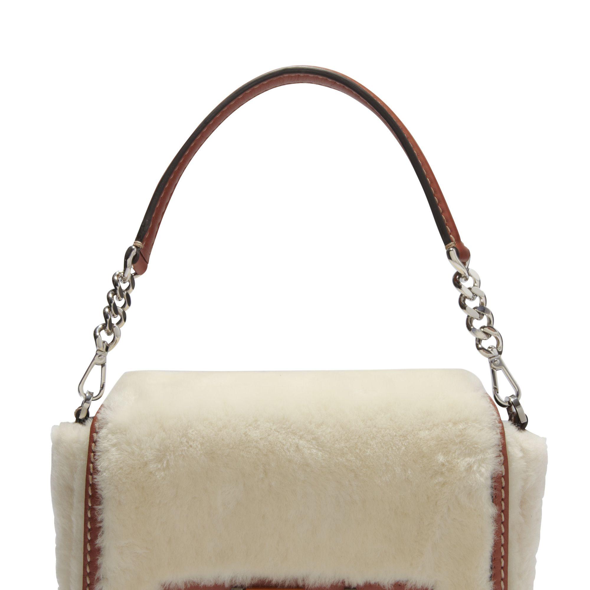 <p><strong>Fendi</strong> bag, $3,250, 212-897-2244.</p>