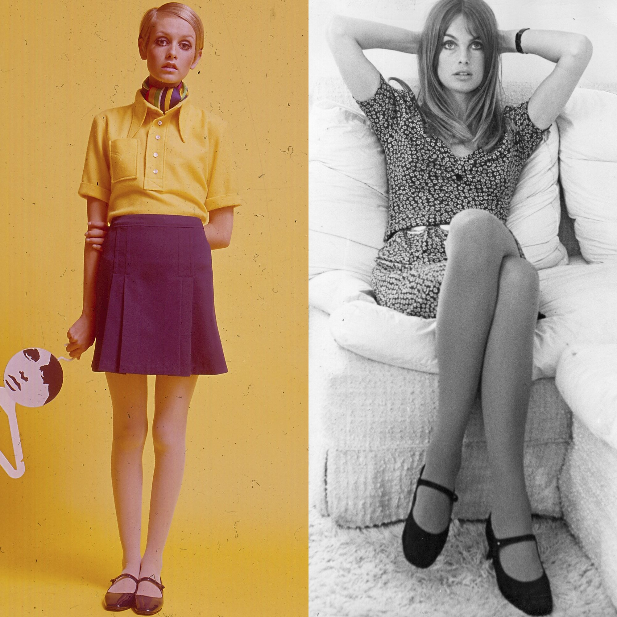 <p>The Mary Jane played a key role in model-off-duty style during the 60s, as seen on Twiggy and Jean Shrimpton.</p>