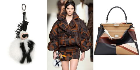 "<p>Karl Lagerfeld's legendary ingenuity has put Fendi's accessories among the most covetable season after season. Quirky fur add-ons and geometric bags were just a sampling of our favorites for fall. </p><p><i>Fendi Karlito keychain, $1,450, </i><a href=""https://shop.harpersbazaar.com/designers/fendi/karlito-fur-keychain/""><i>shopBAZAAR.com</i></a><i>; Fendi bag, $5,300, </i><a href=""https://shop.harpersbazaar.com/designers/fendi/peekboo-medium-patchwork-bag/""><i>shopBAZAAR.com</i></a></p>"