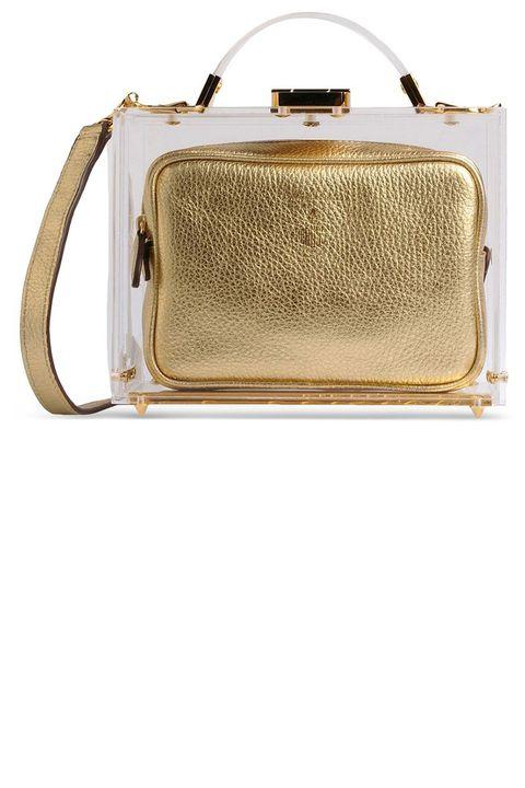 """<p><strong>Mark Cross</strong> bag, $2,895, <a href=""""https://shop.harpersbazaar.com/designers/m/mark-cross/grace-mini-box-bag-5908.html"""" target=""""_blank""""><strong>shopBAZAAR.com</strong></a>.</p>"""