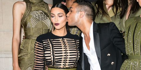 ac52a5531593 Why Kim Kardashian Is the Ultimate Balmain Muse - Olivier Rousteing ...