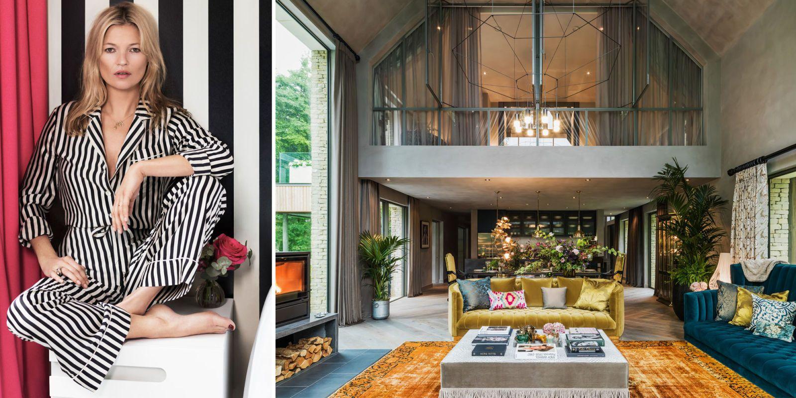Kate Moss Does Interior DesignKate Moss is an Interior Designer