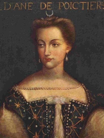 <p><strong>Known For:</strong> The mistress of King Henry II of France.</p><p><strong>Signature Style:</strong> Pearl-encrusted gowns and gold bracelets. </p><p><strong>Why We Love Her:</strong> She was two decades older than the King and was immortalized in scandalous nude paintings by members of the Fountainbleau school. </p>