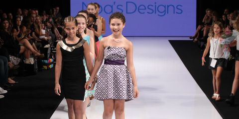 Meet Noa Sorrell: The 11-Year-Old Who Showed At LA Fashion Week