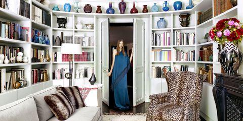 Blue, Room, Interior design, Textile, Furniture, Shelf, Shelving, Wall, Interior design, Home,