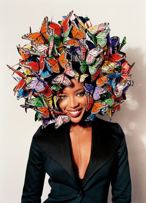 Naomi Campbell featured in  Philip Treacy  Hats of the Twenty-First Century  06ed71652eb