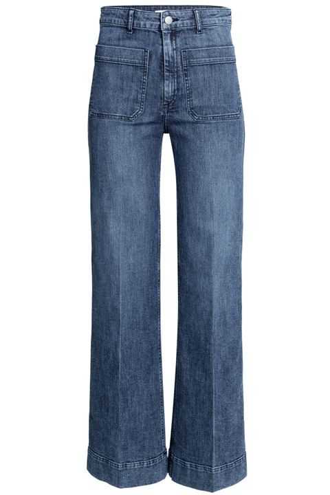 Clothing, Blue, Brown, Product, Pocket, Denim, Trousers, Jeans, Textile, White,