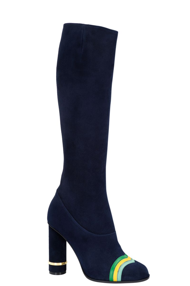 "<p>Tightly fitted and fabulous. </p><p><strong>Loewe</strong> boots, $1,690, <a href=""https://shop.harpersbazaar.com/designers/loewe/column-ring-boot/"" target=""_blank""><strong>shopBAZAAR.com</strong></a>. </p>"