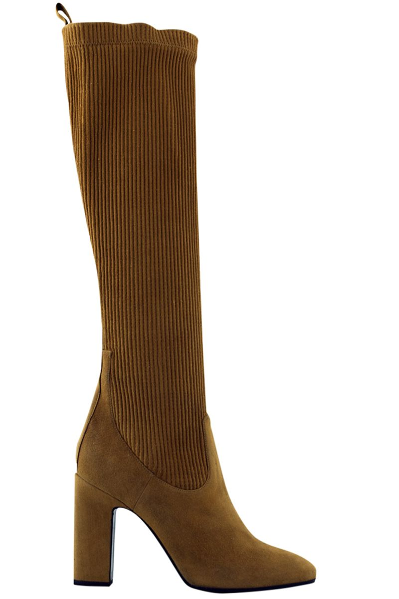 """<p><strong>Pierre Hardy </strong>boots, $1,495, <strong><a href=""""https://shop.harpersbazaar.com/designers/pierre-hardy/ace-tall-suede-kid-boot/"""" target=""""_blank"""">shopBAZAAR.com</a></strong>. </p>"""