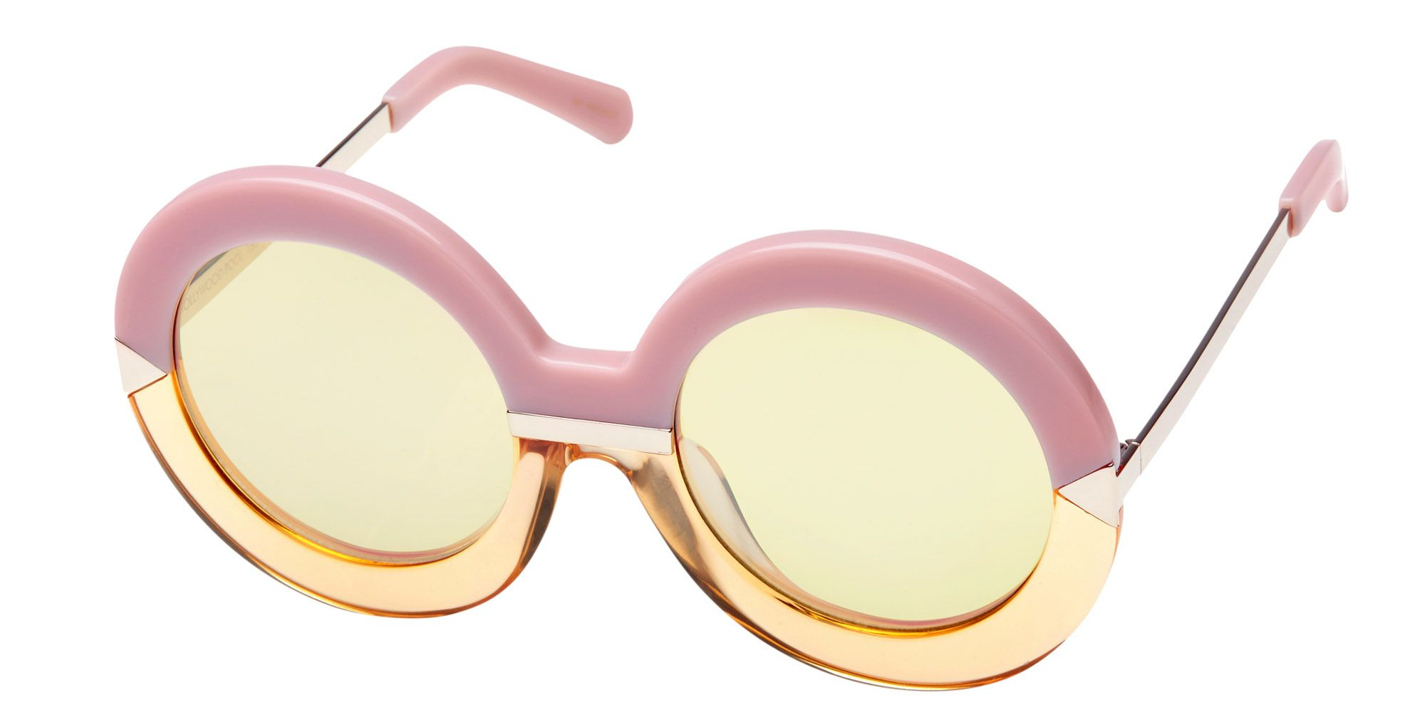 "<p><strong>Karen Walker</strong> sunglasses, $300, <a href=""https://www.shopbop.com/hollywood-pool-sunglasses-karen-walker/vp/v=1/1522211254.htm?folderID=2534374302162611&fm=other&os=false&colorId=90652"" target=""_blank"">shopbop.com</a>. </p>"